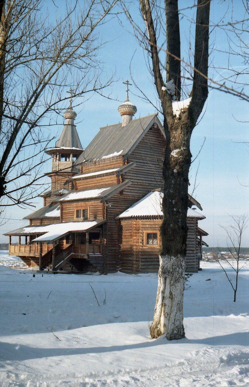 Church of Saint Tsar Nicholas II the Passion-Bearer in Nicolskoe town