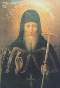 Преподобный Игнатий, архимандрит Печерский (икона)