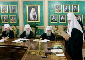 Заседание Священного Синода 12 марта 2013 года