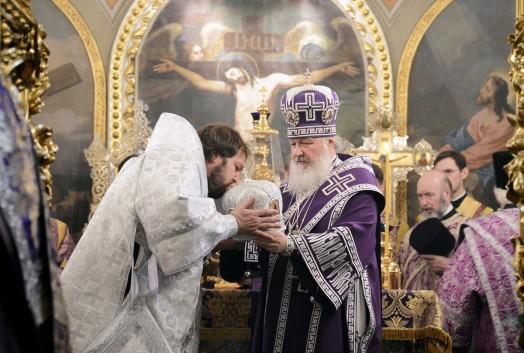 Хиротония архимандрита Митрофана (Осяка) во епископа Гатчинского и Лужского