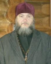 Иерей Александр Белослюдов - настоятель храма святого страстотерпца царя Николая II в городе Никольское